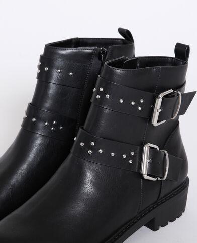 Bottes motard noir