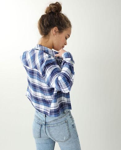 Chemise courte blanc cassé - Pimkie
