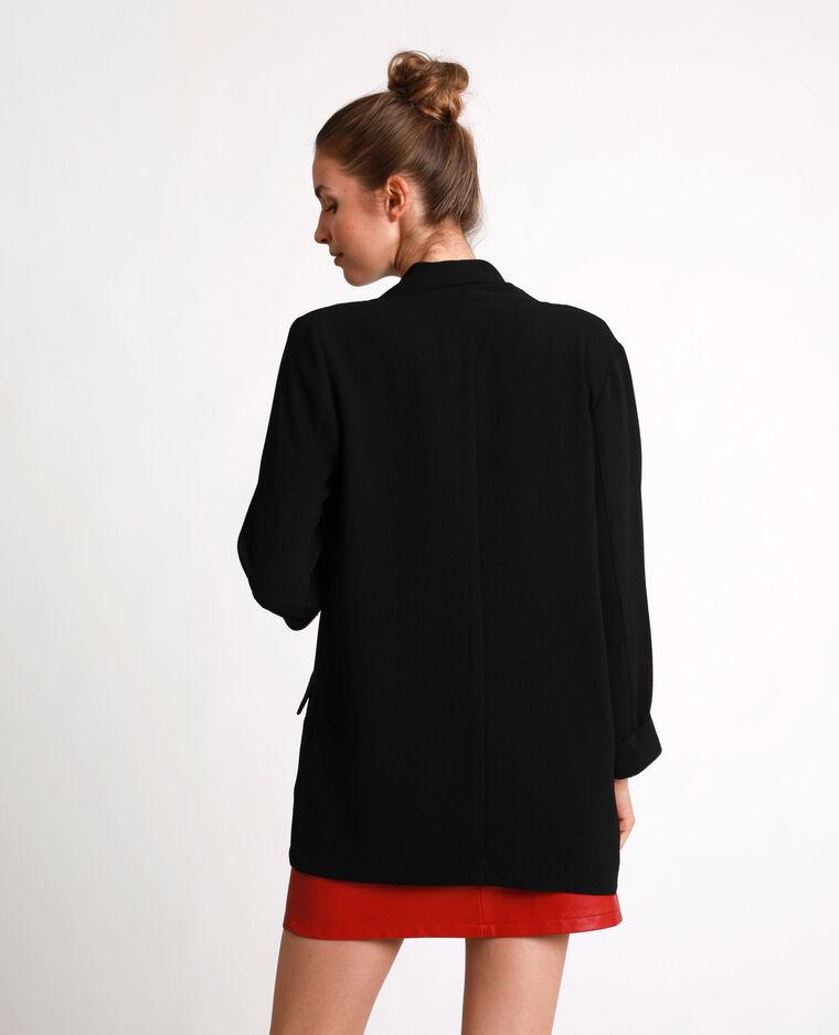 Blazer fin noir