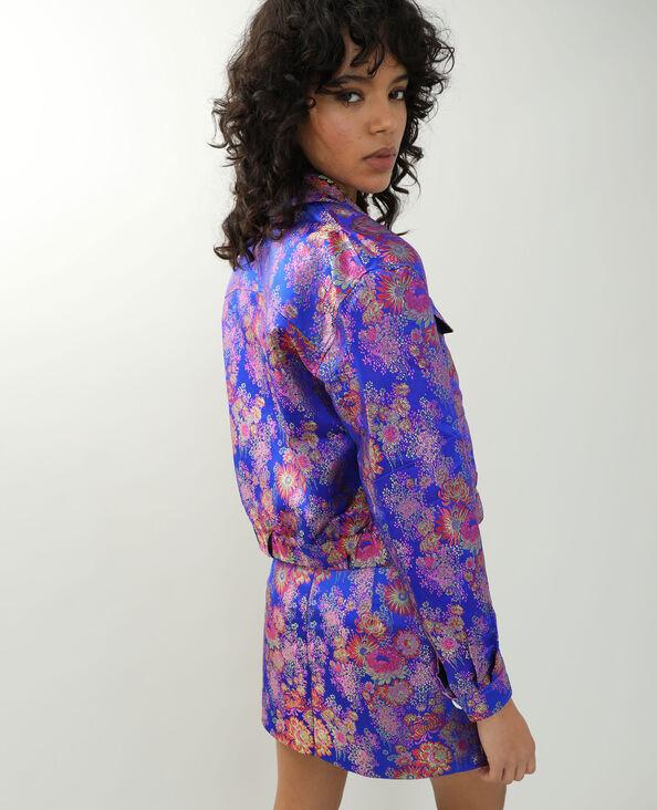 Veste esprit Asie bleu roi - Pimkie
