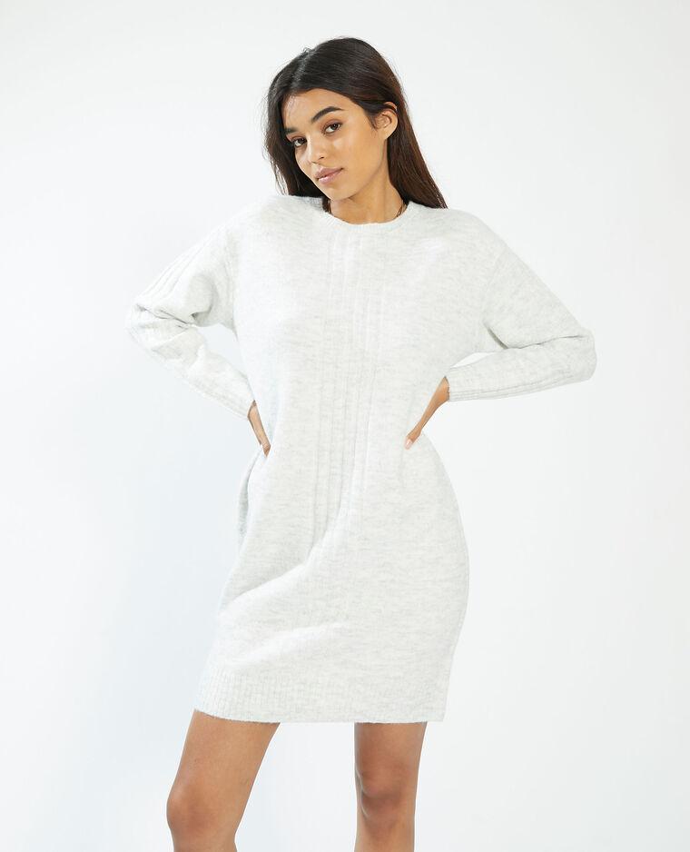 Robe pull blanc - Pimkie