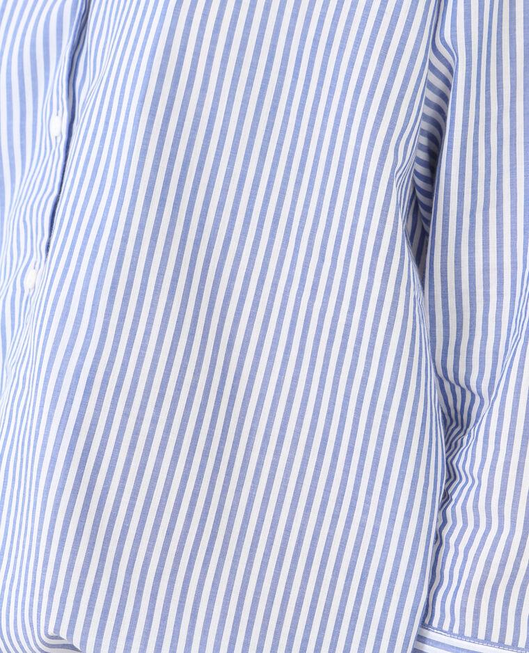 Chemise rayée blanc