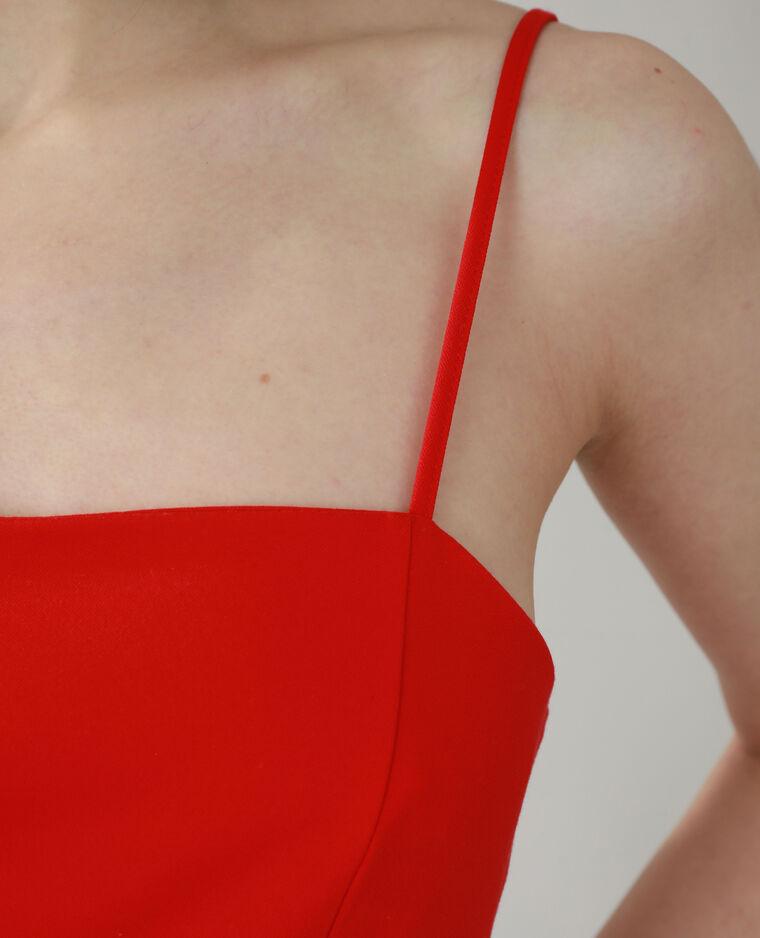 Robe fourreau rouge - Pimkie