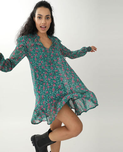 Robe tunique vert