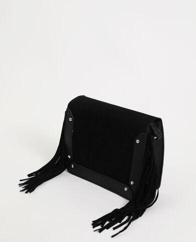 Petit sac à franges noir