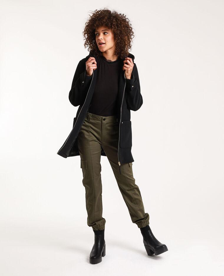 T-shirt à manches courtes noir