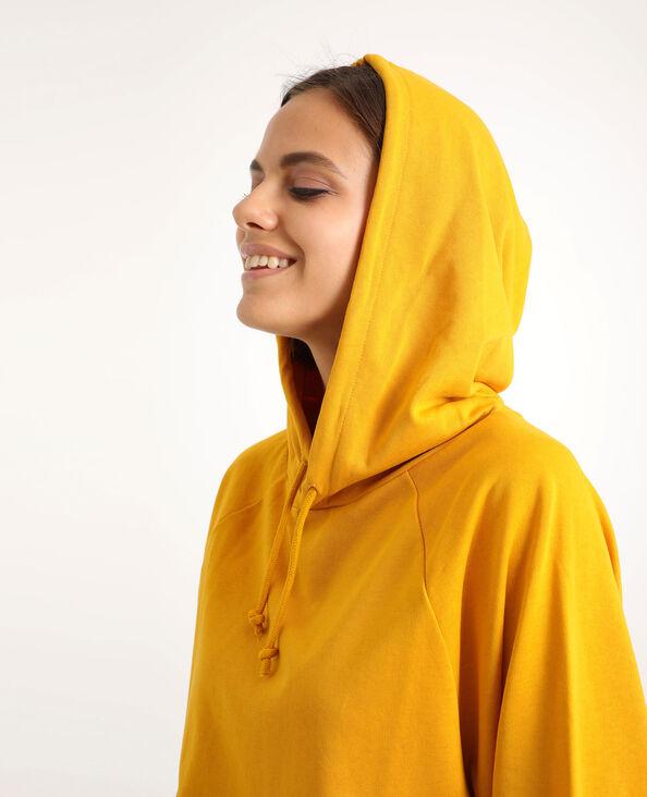 Sweat court jaune