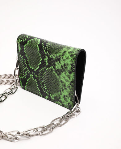 Porte-monnaie avec chaînes noir - Pimkie