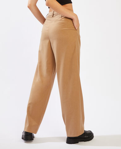 Pantalon à pinces caramel - Pimkie