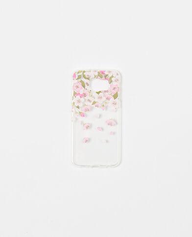Coque souple compatible Samsung S6 rose