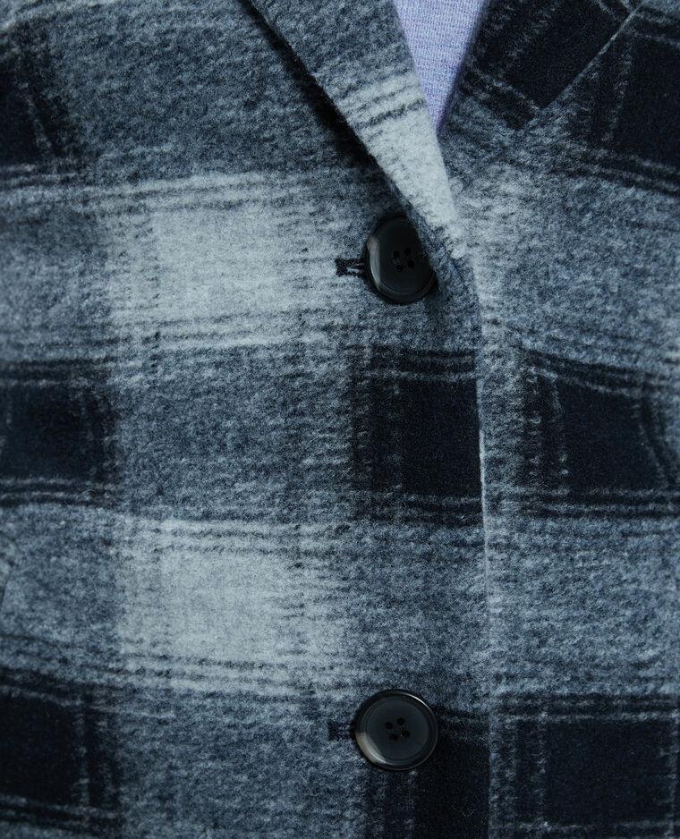 Manteau droit noir - Pimkie