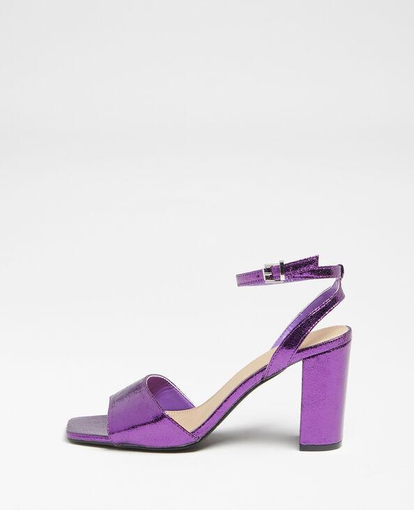 Sandales à bride violet