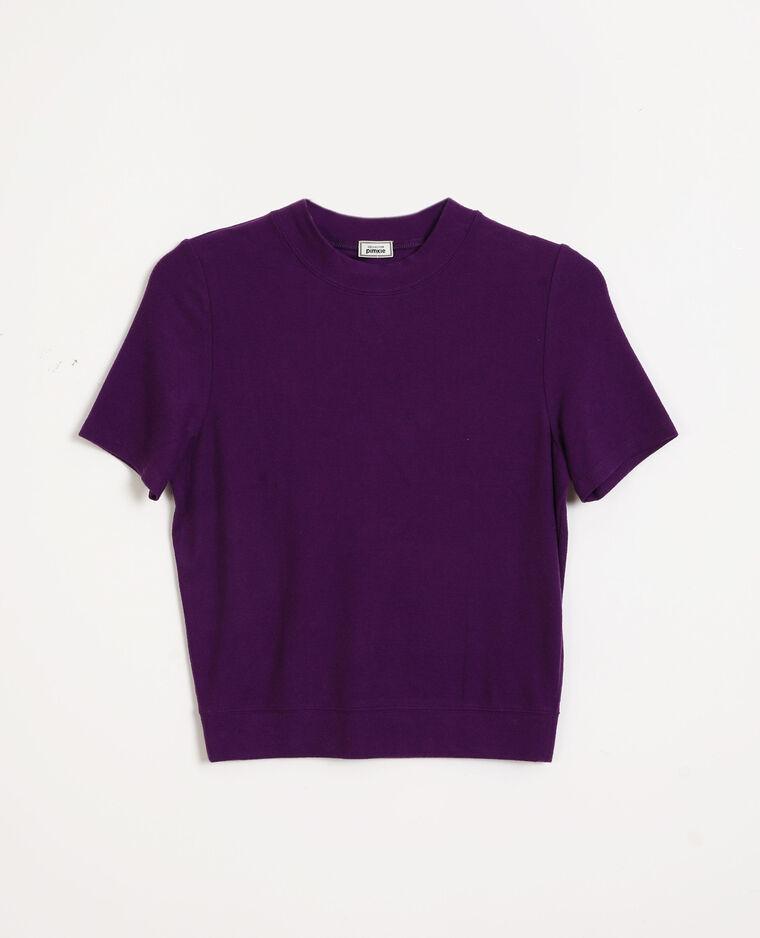 Top manches courtes violet - Pimkie