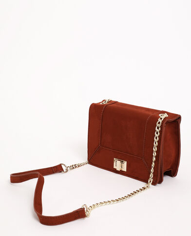 Sac boxy marron - Pimkie