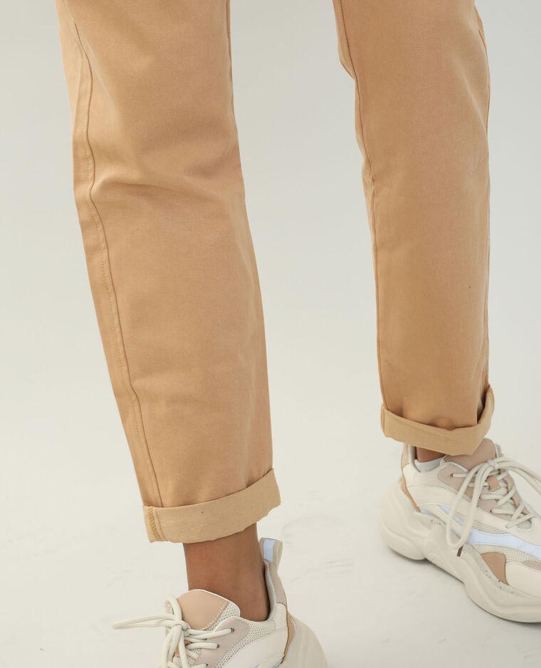 Pantalon chino camel - Pimkie