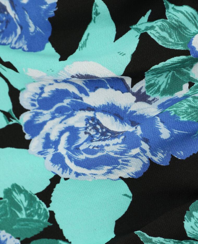 Robe droite fleurie noir - Pimkie