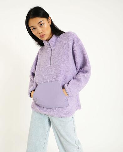 Sweat sherpa violet
