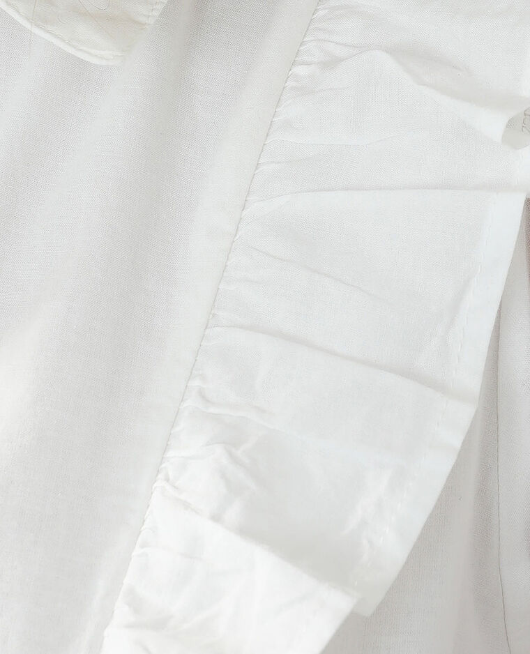 Robe trapèze blanc cassé - Pimkie