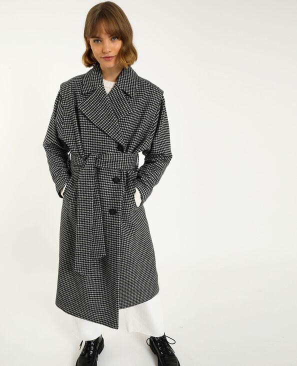 Manteau long noir