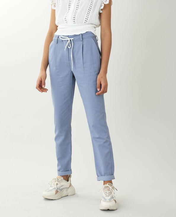 Pantalon chino bleu - Pimkie