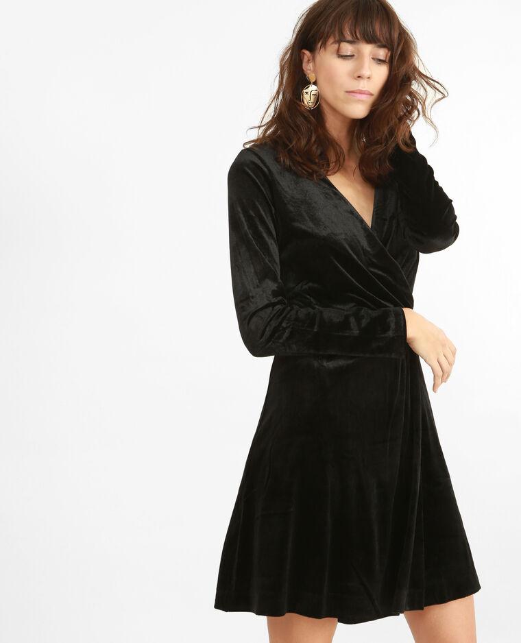 35077e2aed3 Robe velours noir - 780786899A08