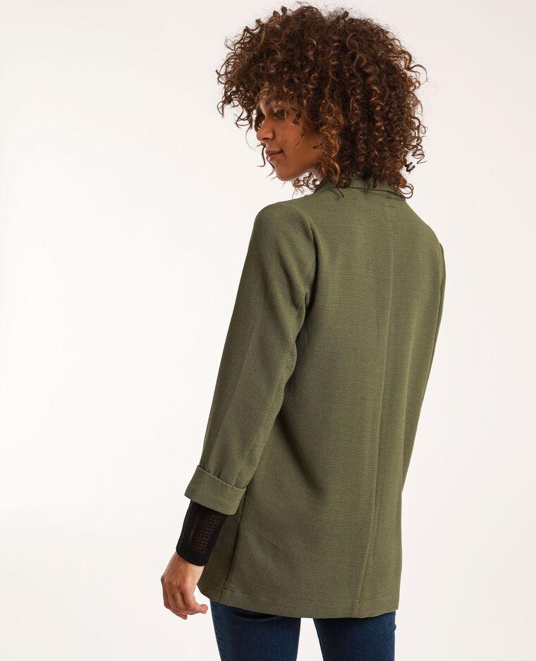Blazer fin vert