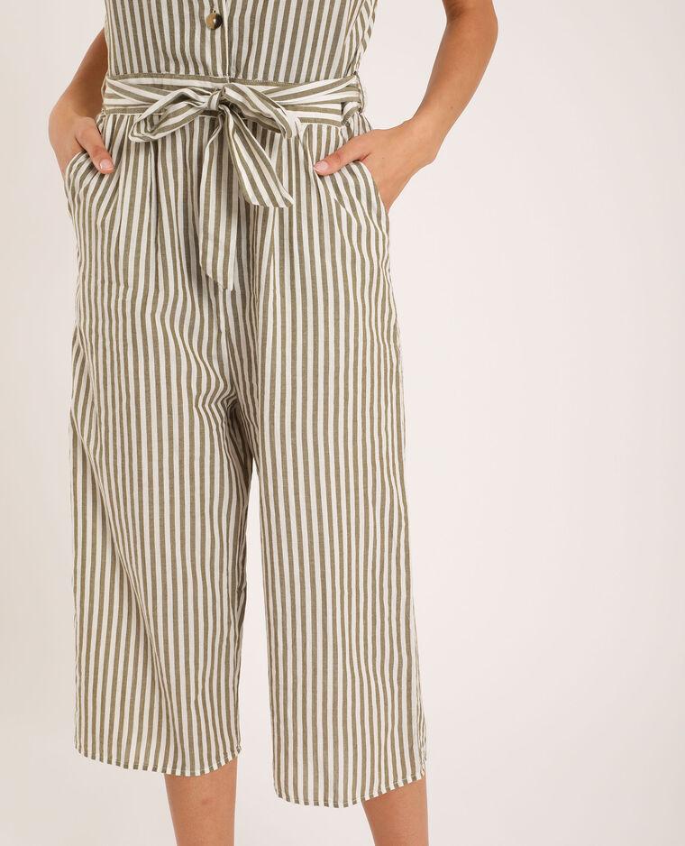 Combi-pantalon 7/8 kaki