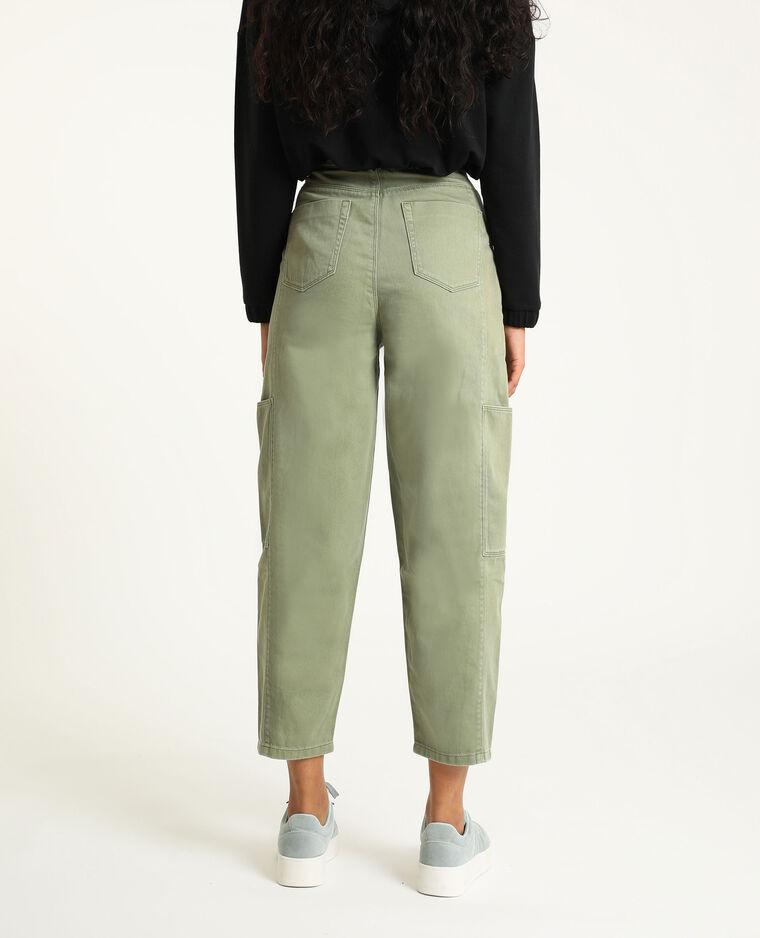 Pantalon slouchy kaki - Pimkie