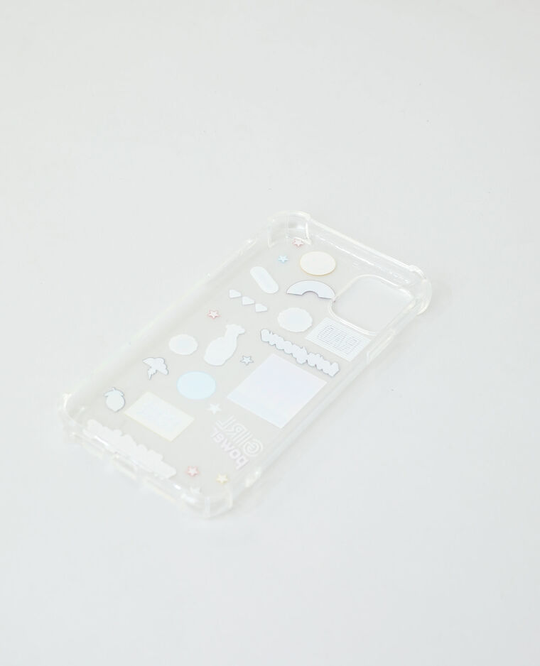 Coque compatible iPhone blanc