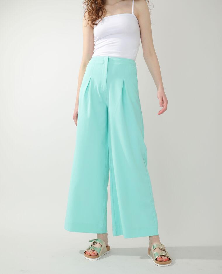 Pantalon city ample vert - Pimkie