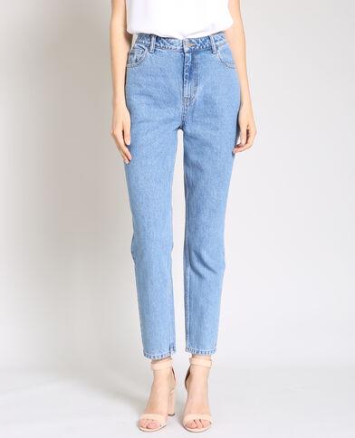 Jean taille haute bleu - Pimkie