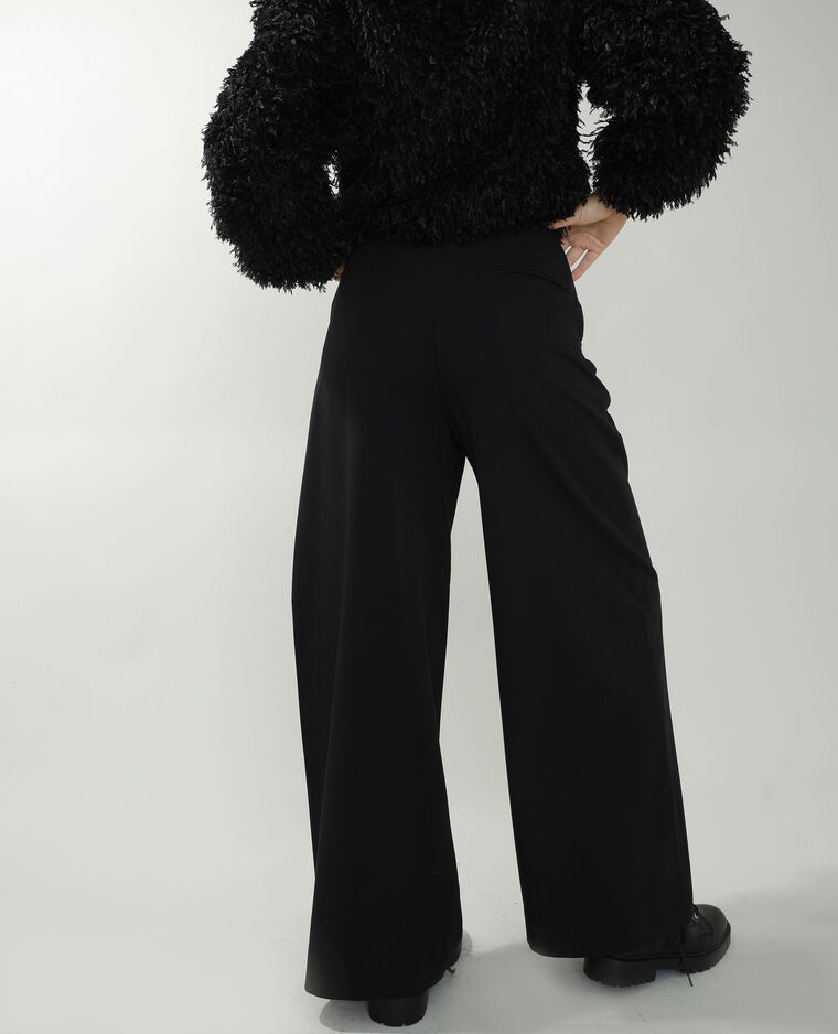 Pantalon city ample noir