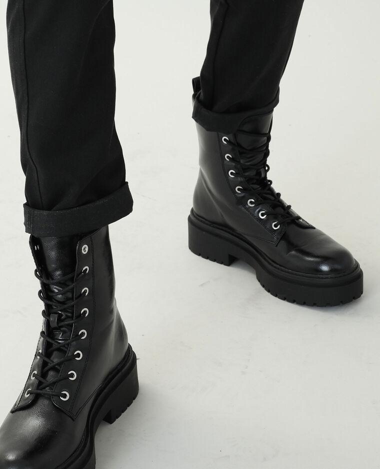 Pantalon chino noir - Pimkie