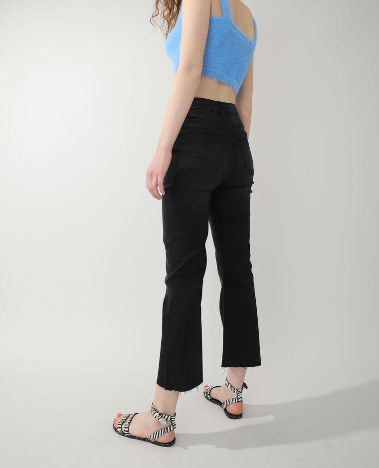 Jean flare high waist noir - Pimkie