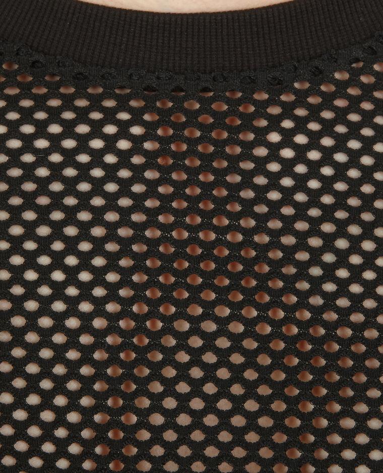 T-shirt de sport filet noir