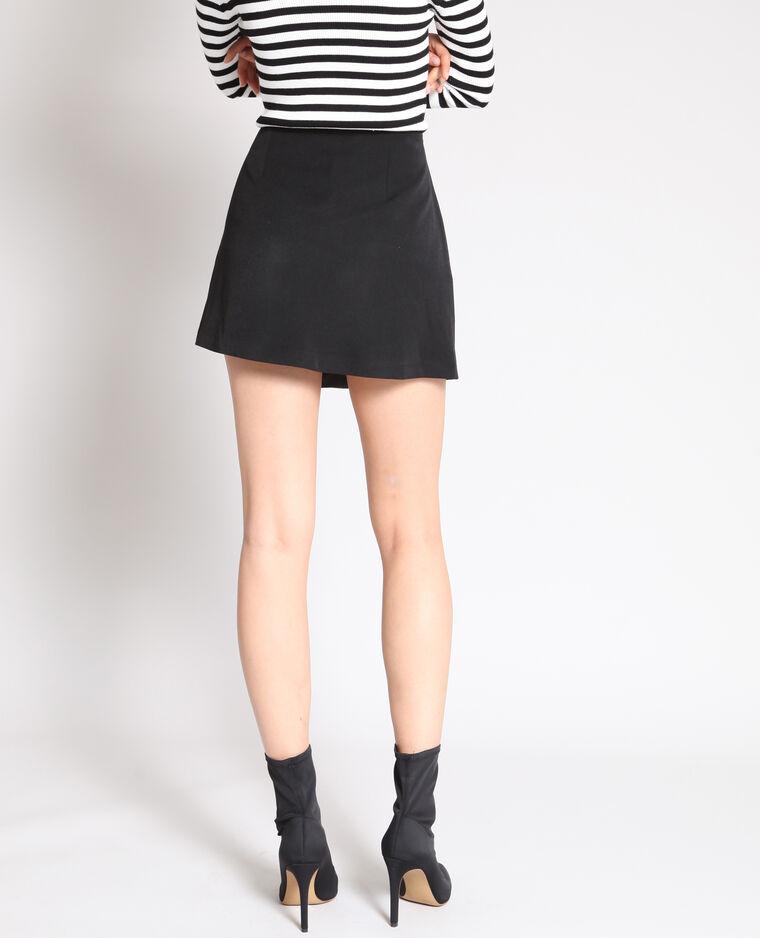Jupe short noir