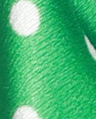 Foulard à pois vert
