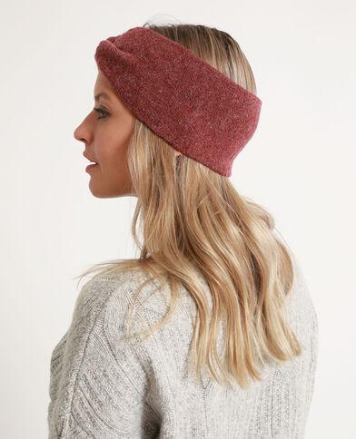Headband pour cheveux bordeaux