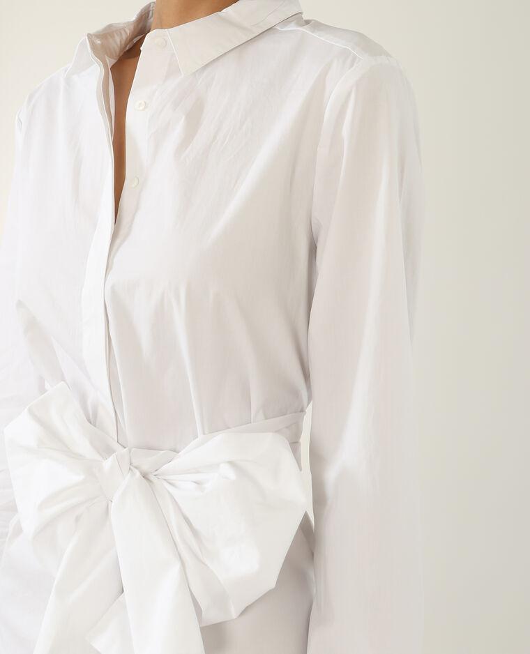 Robe chemise blanc