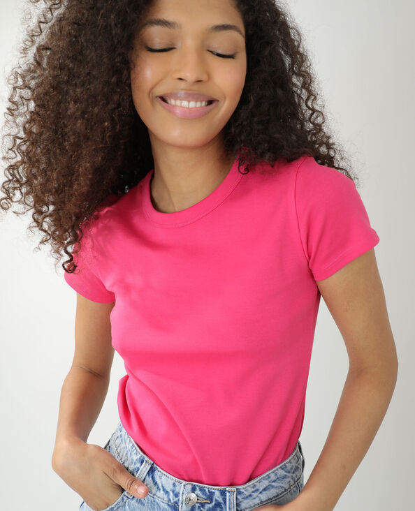 T-shirt basique rose - Pimkie