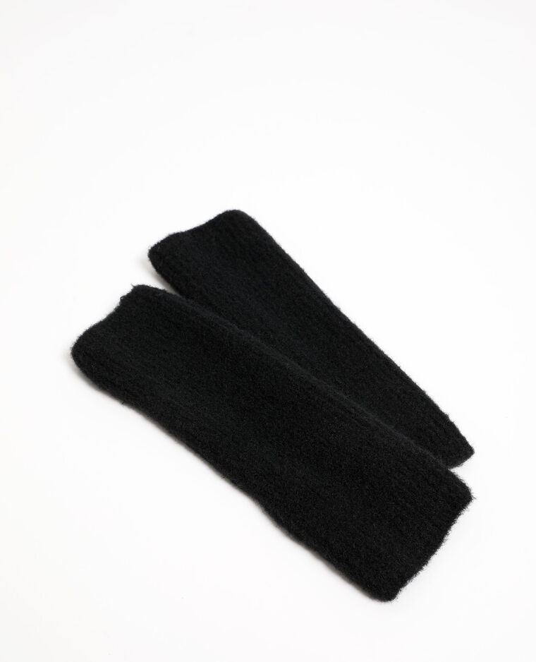 Mitaines longues noir