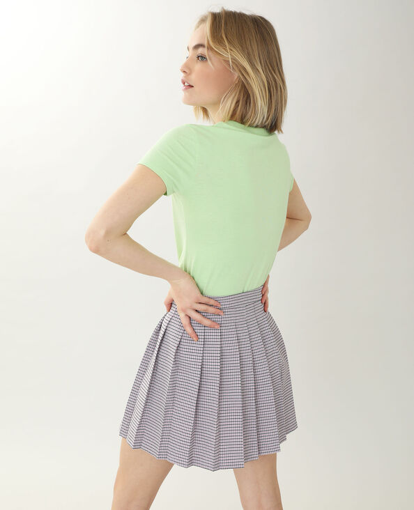 T-shirt manches courtes vert - Pimkie