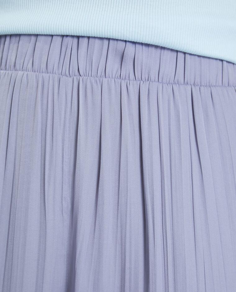 Pantalon fluide plissé parme - Pimkie