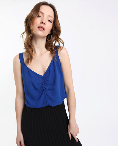 Top court Bleu jean