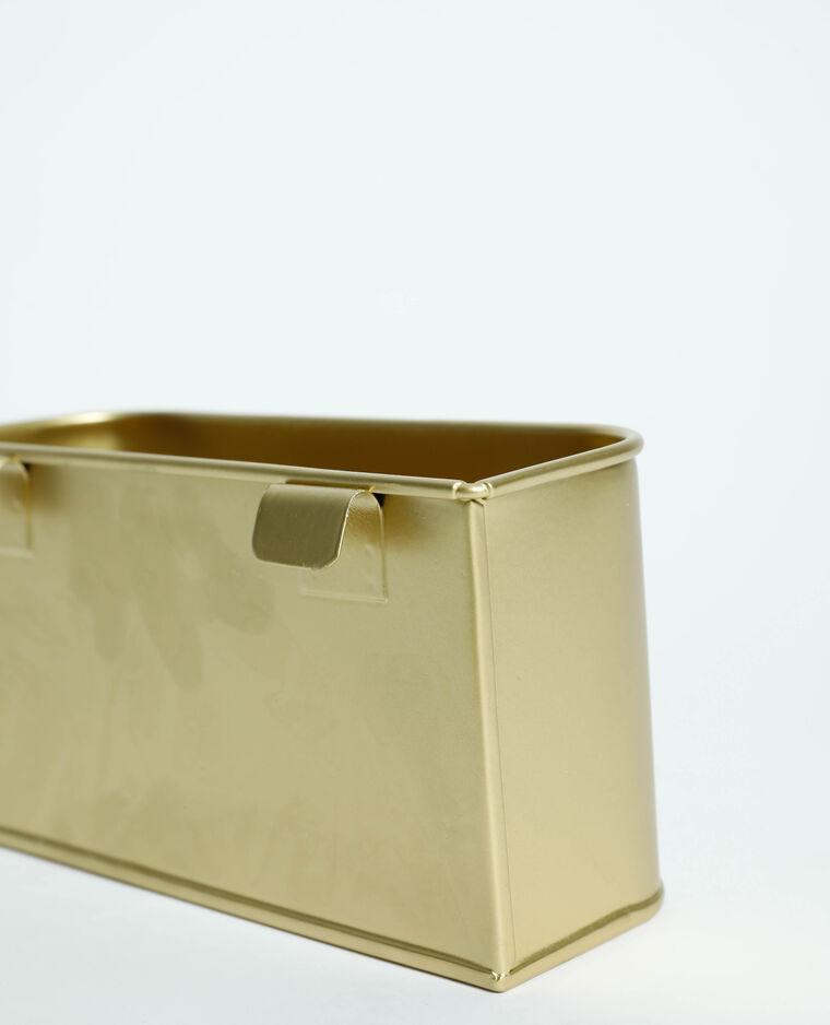 Box pour organiseur doré - Pimkie