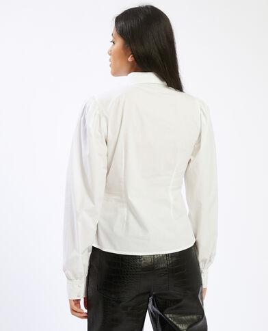 Chemise basique blanc - Pimkie