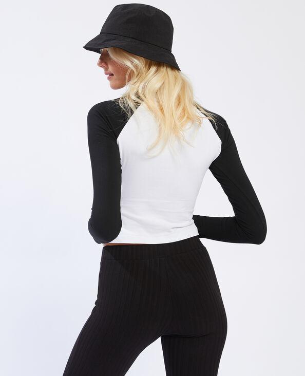 T-shirt manches longues noir - Pimkie