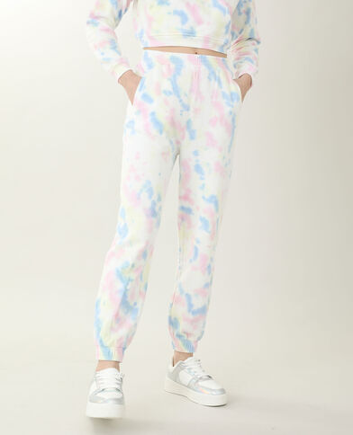 Jogging tie and dye bleu canard - Pimkie