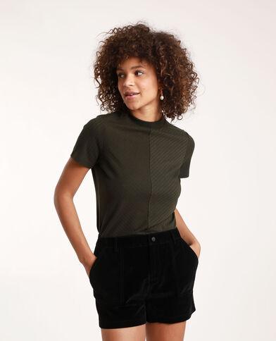 T-shirt à manches courtes kaki