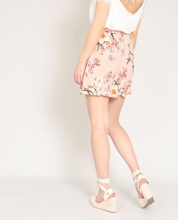 Jupe légère rose